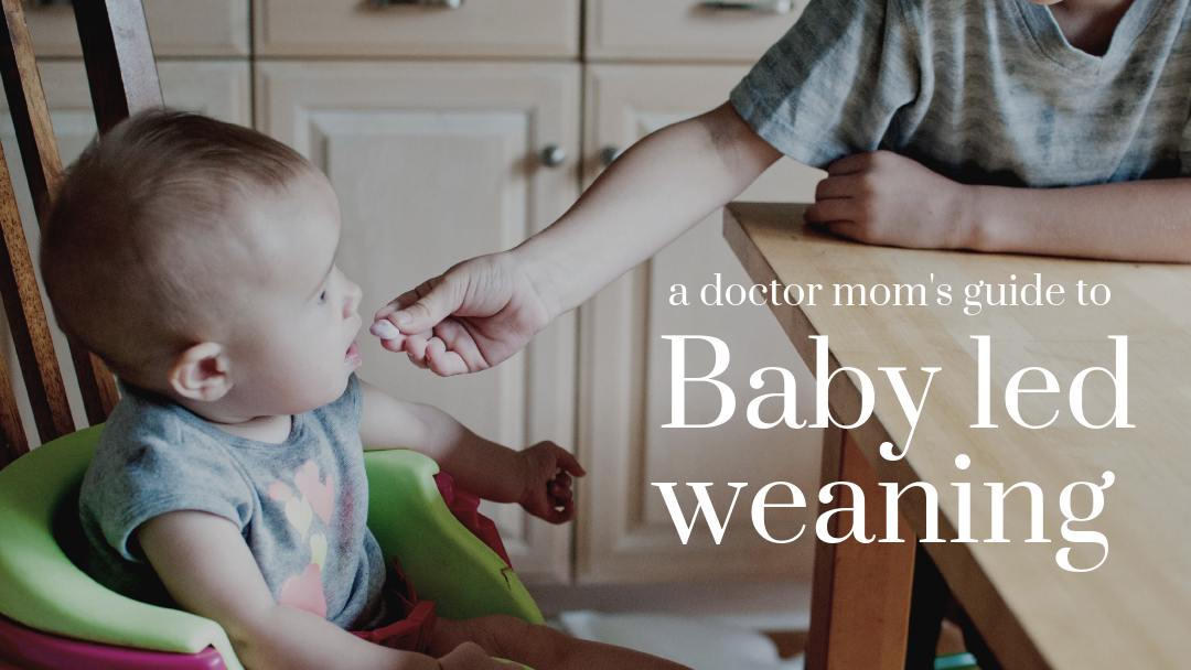 Doctor moms guide to baby led weaning (When and How to start)