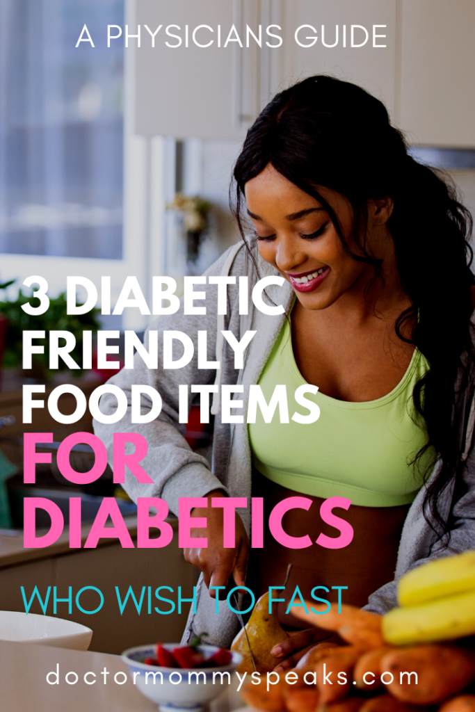 what foods are healthiest for diabetics who are fasting