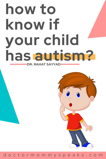 Signs and symptoms of autism