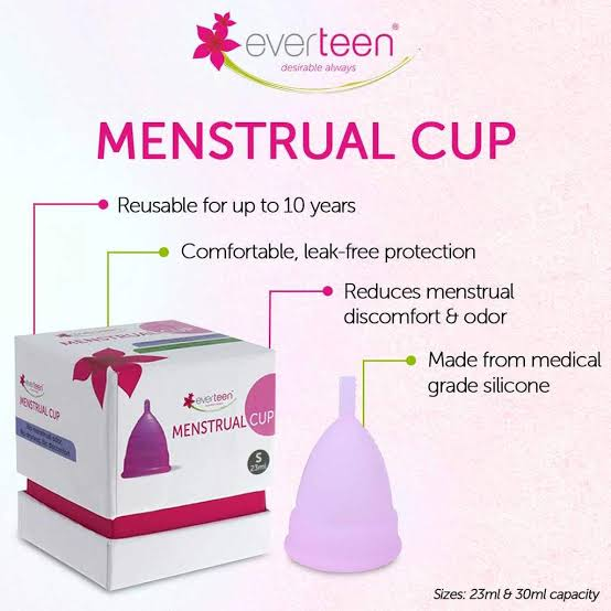 everteen menstual cups