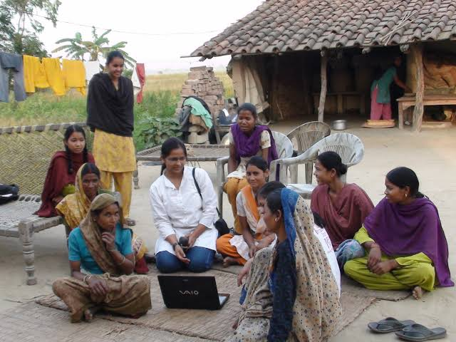 aanandi initiative by aakar for rural Indian women
