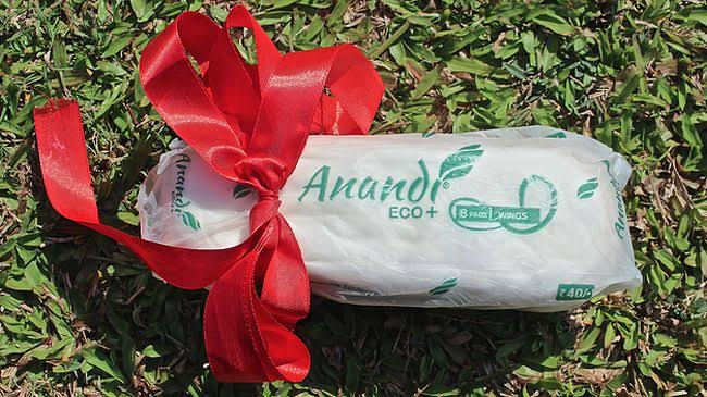 anandi menstrual pads which are bio degradable
